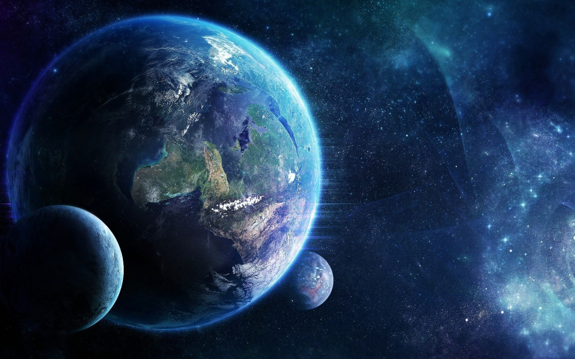 Space Hd planets Wallpaper